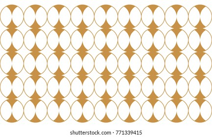 Rounded luxury pattern
