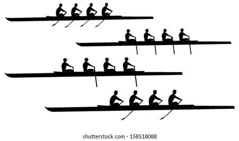 Rowing coxless four