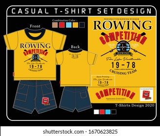 rowing sport graphic design,vector sport design graphic illustration