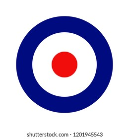 Royal Air Force roundel. Type D.