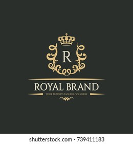Royal Logo Images, Stock Photos & Vectors | Shutterstock