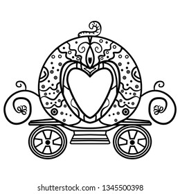 Cinderella Carriage Drawing & Free Cinderella Carriage Drawing.png ...   280x260
