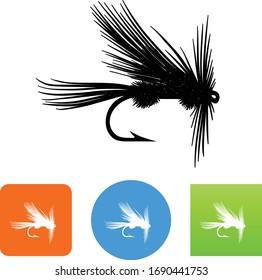 Royal Coachman Pattern Fly Fishing Icon