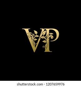 Royal Gold VP Letter Logo