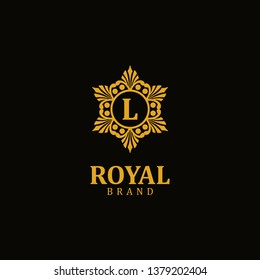 Royal logo letter L, design inspiration vector template for any purpose logo