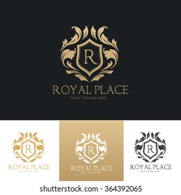 Royal Place luxury Logo Template