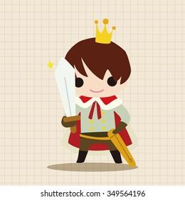 Royal theme prince elements