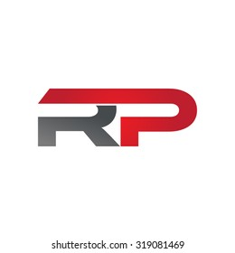 RP company group linked letter logo