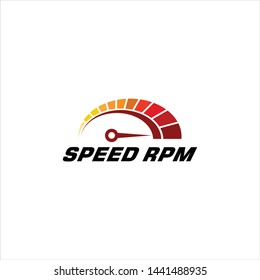 RPM speed logo vector quality download