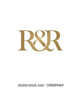 R&R Initial logo. Ampersand monogram logo