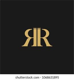 RR Logo Design Template