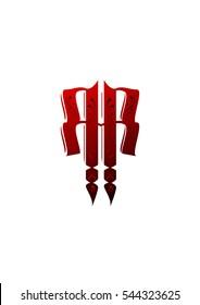 RR logo template