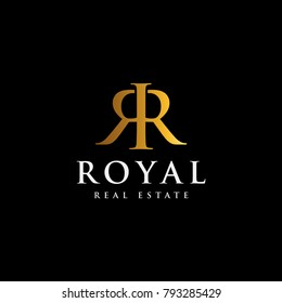 RR monogram for Real estate and or other luxury company.