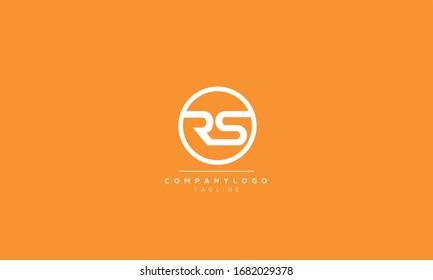 RS Letter Logo Design Template Vector