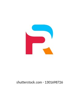 RS letter logo vector icon illustration