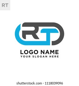 RT initial logo template vexctor