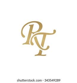 RT initial monogram logo