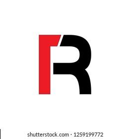 rt letter vector logo
