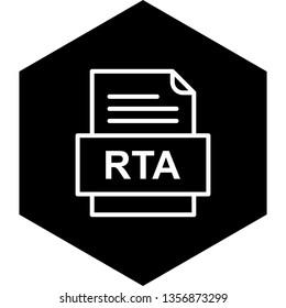 RTA File Document Icon