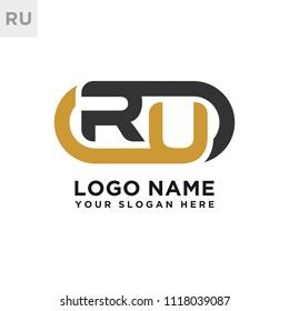 RU initial logo template vexctor