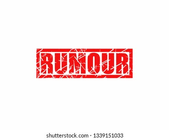Rubber red stamp rumour