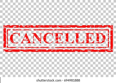 Rubber Stamp Effect : Cancelled, at Transparent