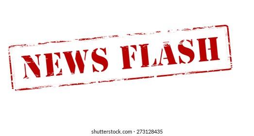 News Flash Images, Stock Photos & Vectors