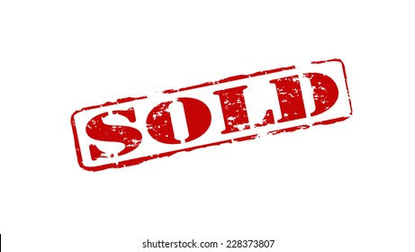 Sold Stamp Images, Stock Photos & Vectors | Shutterstock