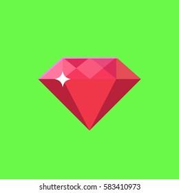 rubin diamond green