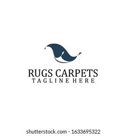 Rug Logo Design Vector Template