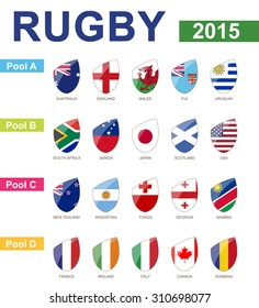 Rugby 2015, All Pools, All Flag