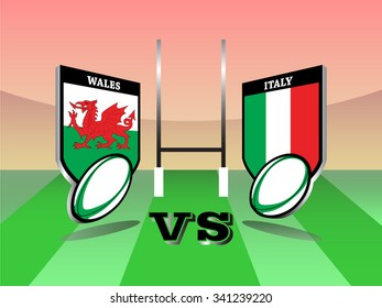 Rugby Six Nations championship 2016, Wales vs Italy match