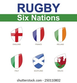 Rugby Six Nations Championship, 6 Flag