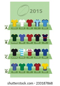 Rugby Union International Jerseys