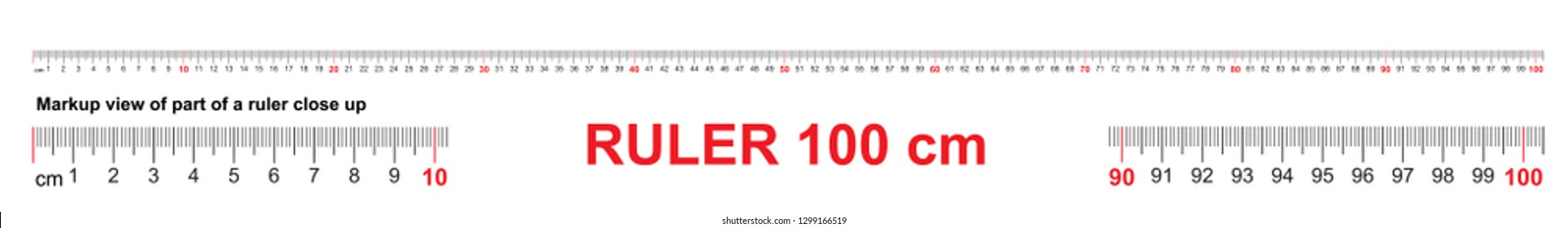 Meter Ruler Stock Illustrations, Images & Vectors | Shutterstock