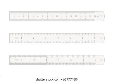 ruler vector illustration on white background