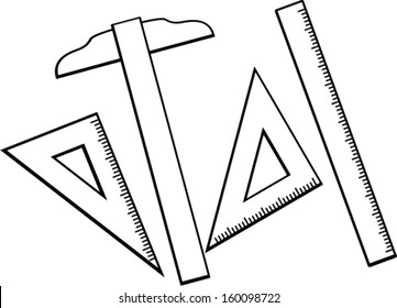 rulers drafting tools