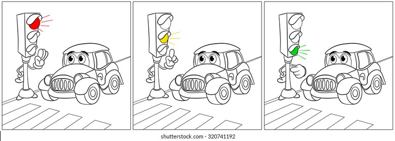 drawing traffic images  stock photos  u0026 vectors
