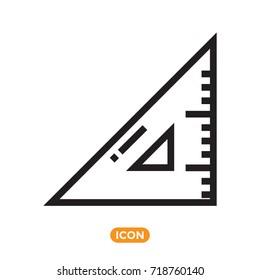 Ruller Vector Icon