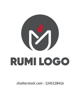 Rumi Logo Design