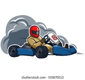 Run Fast Go kart