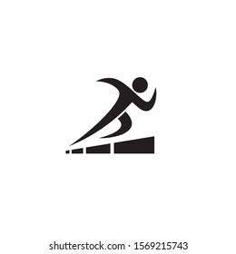 Run and Grow logo / icon design