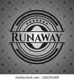 Runaway black emblem