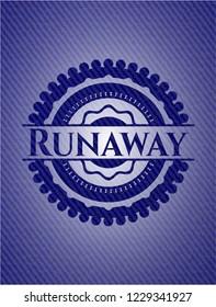 Runaway jean background
