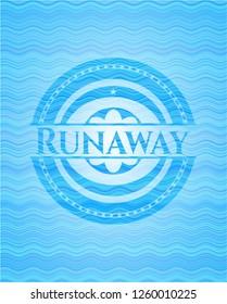 Runaway water style emblem.