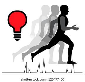 runner shadow idea