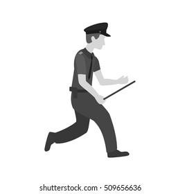 Running Cop