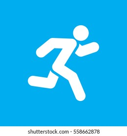 running icon illustration isolated vector sign symbol