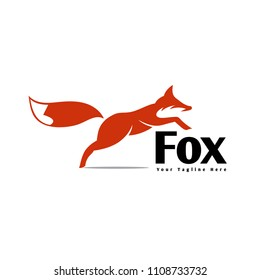 running with jump fox logo