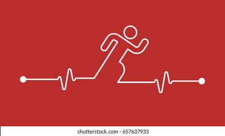 running makes your Heart stronger and cardiology healthier
